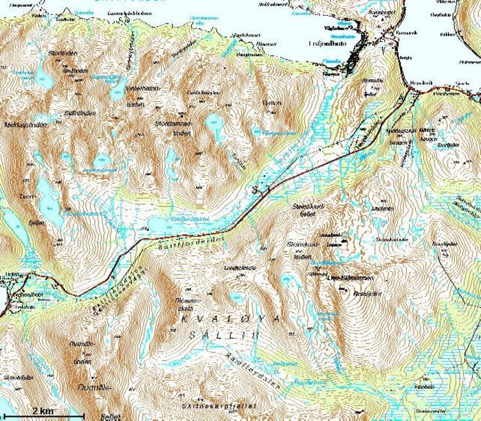 kattfjordeidet kart GC7Q9F7 Kattfjordeidet #1 (Traditional Cache) in Troms, Norway  kattfjordeidet kart